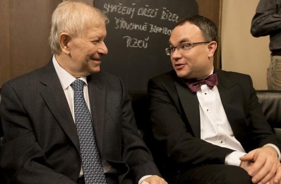 Po výročním koncertě sDavidem Marečkem, generálním ředitelem České filharmonie