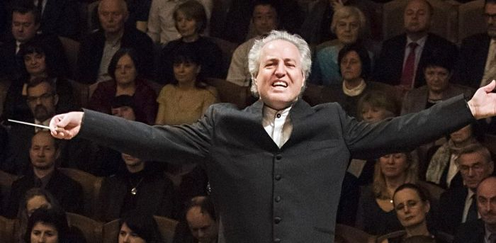The conductor Manfred Honeck